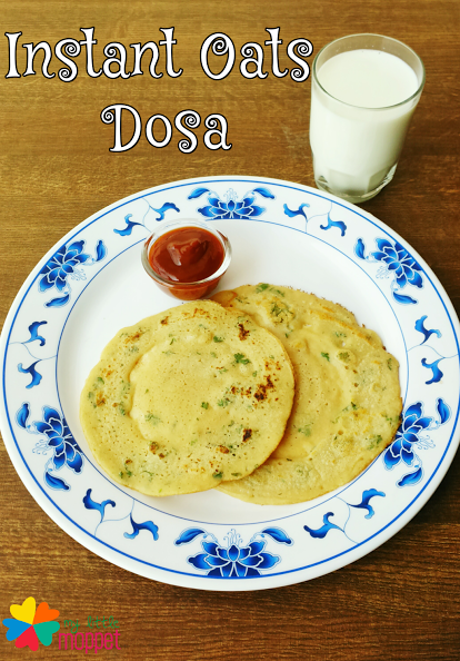 Guest Post:Instant Oats Dosa