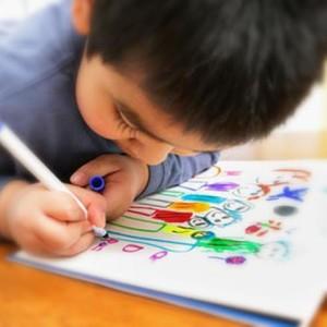 Encourage kids to draw