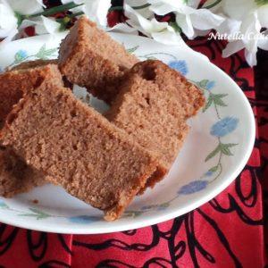 nutella cake with sour cream